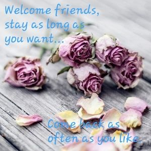 Hello There, Welcome Friends!
